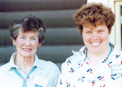 peggy and ellen cheyenne village founder