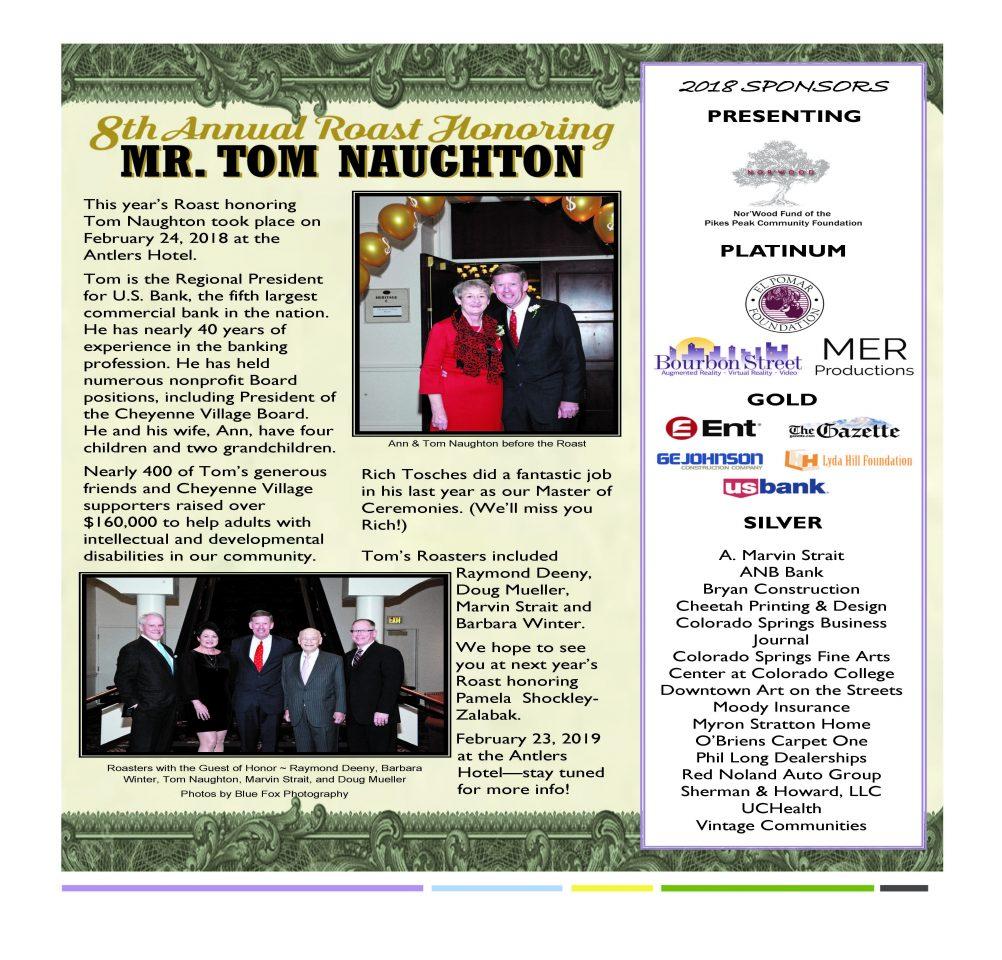 Tom Naughton 2018